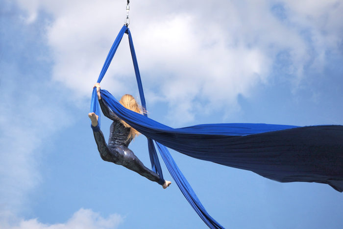 Артисты AirdanceMoscow полетали для «людей неба»