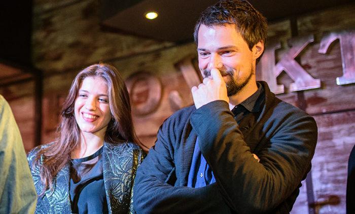 Данила Козловский и Анна Чиповская приняли участие в благотворительном аукционе