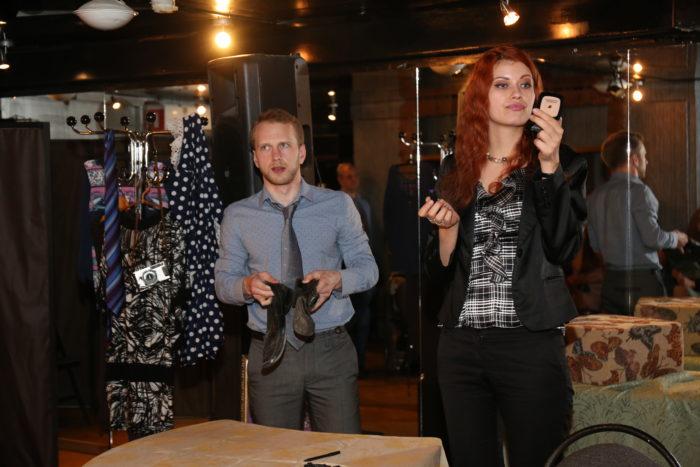 Юлия Миль восхитила зрителей спектакля «Грабитель»